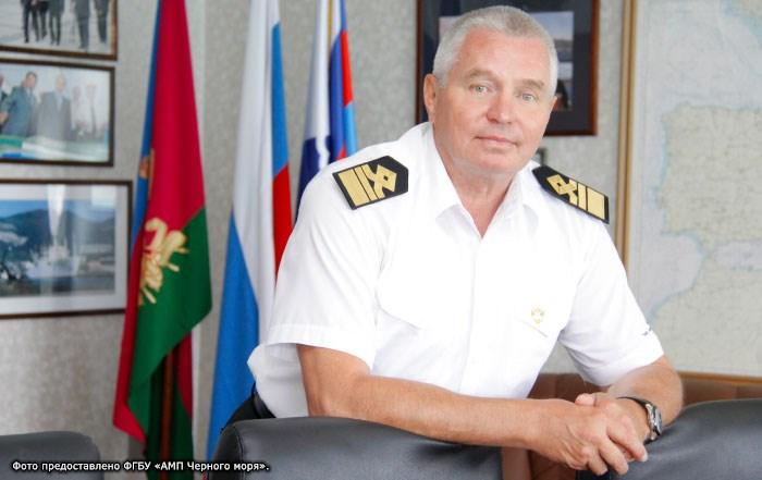 Руководитель администрации морских портов Черного моря Владимир Ерыгин.