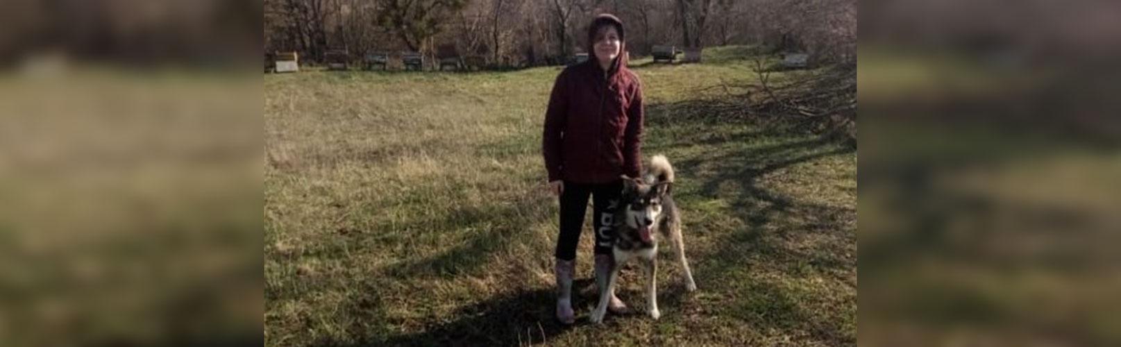 Искалеченный пес нашел семью благодаря «НР»