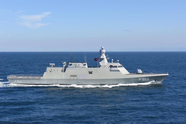 Два турецких корабля пришвартовались в Новороссийске