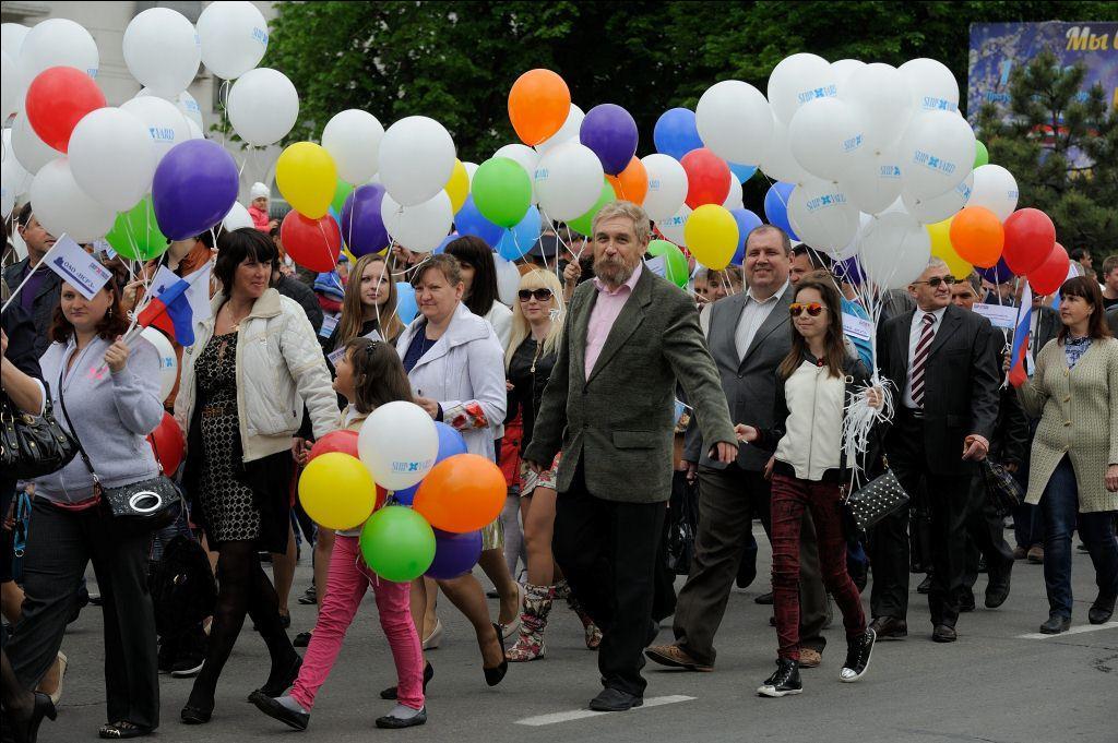 Первомай в Новороссийске будет сырым