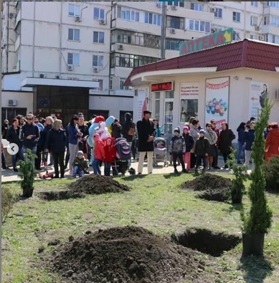 Аллея в Новороссийске поддержит многодетных