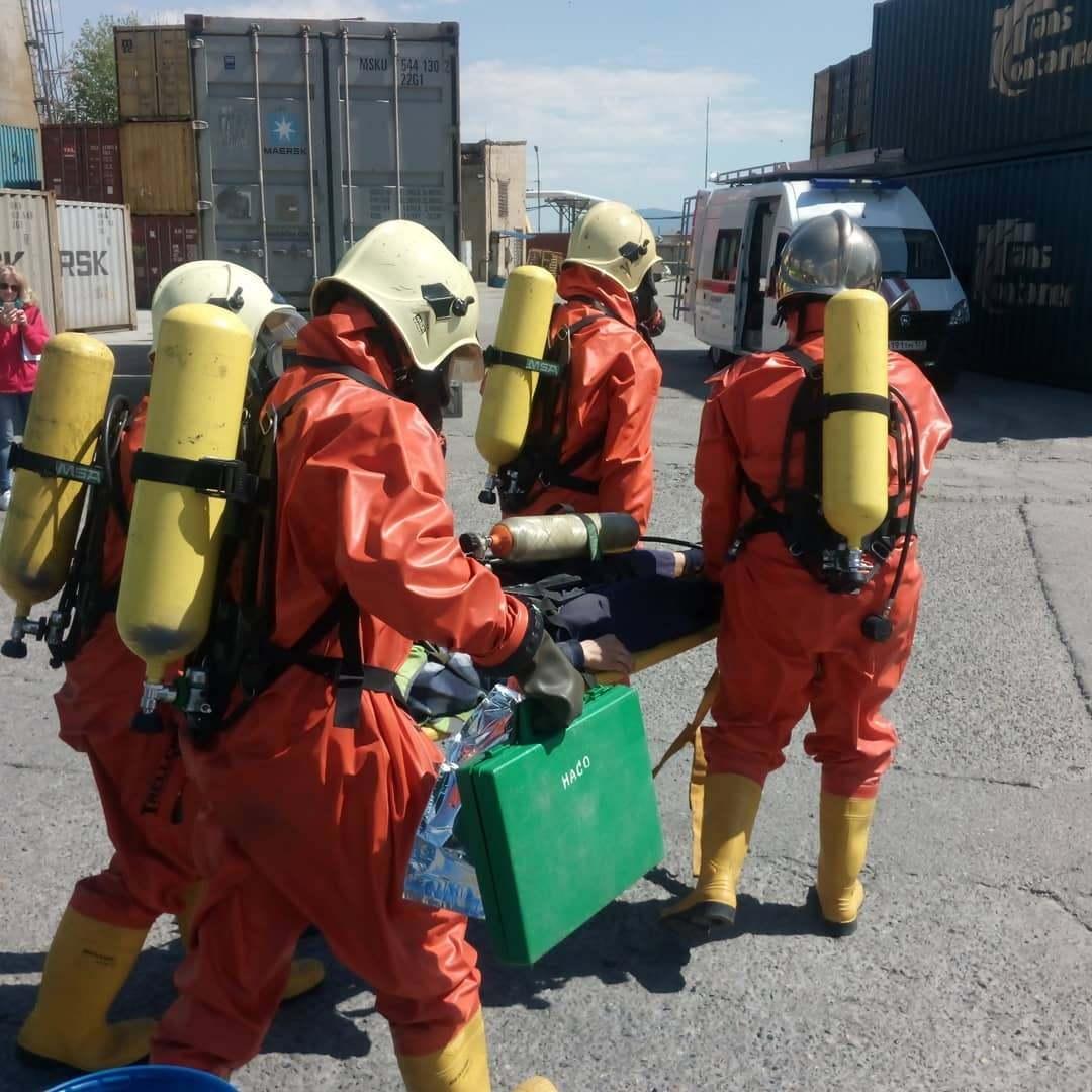 У новороссийских спасателей — аварийные двери, хлор, змеи и мертвые дельфины