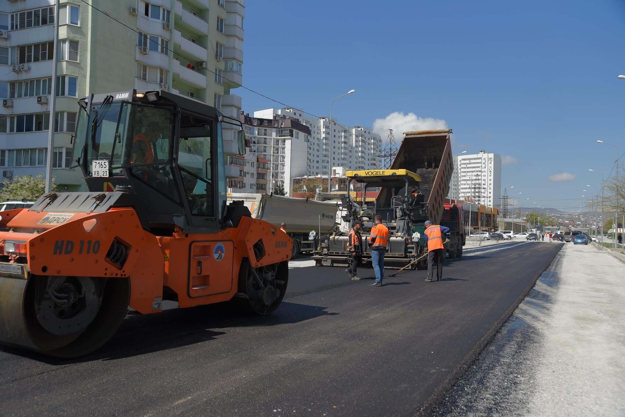 Комиссия проверила, хорошо ли в Новороссийске делают дороги по нацпроекту