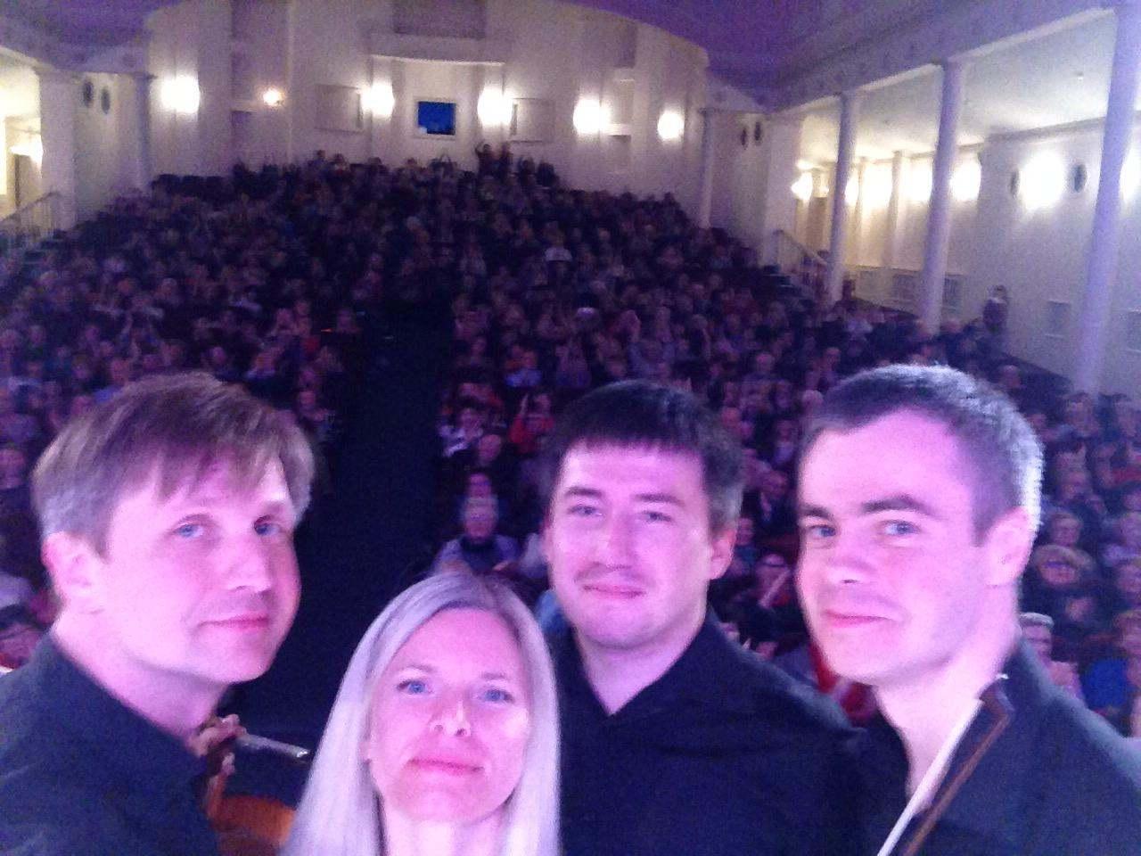 В Новороссийске «академики» страстно сыграли танго