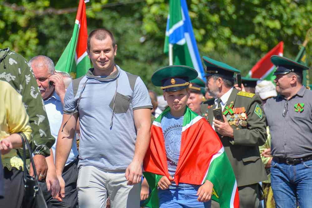 В Новороссийске празднуют День пограничника