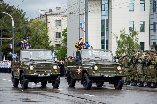 Воины-малоземельцы вновь дошли до Малой Земли в Новороссийске