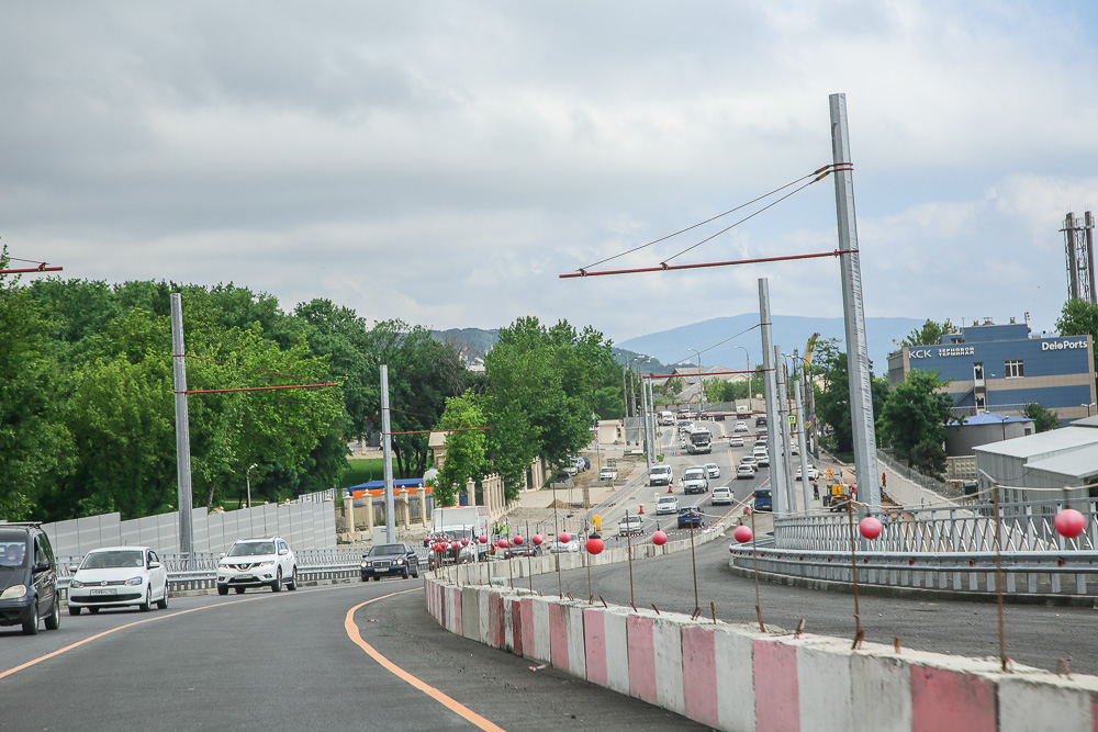 Новый мост в Новороссийске разгрузил Шесхарис