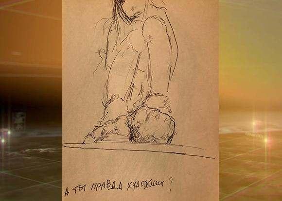 Туракевич показал Новороссийску свои картины исходство сбабочкой