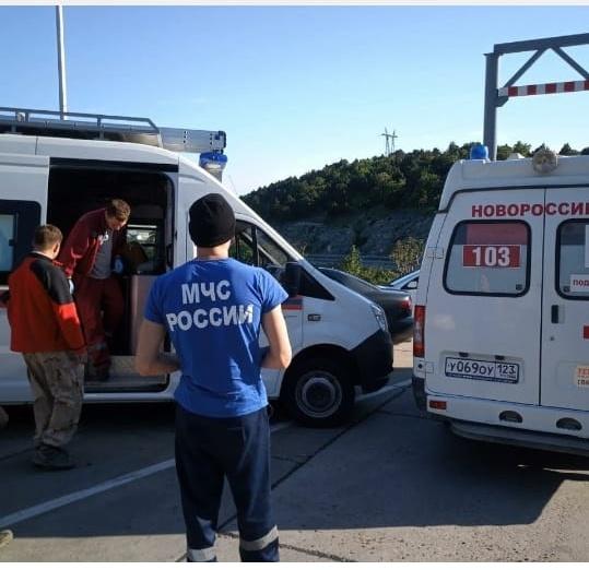В горах спасли новороссийцев с инфарктом и переломом ноги