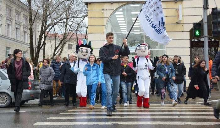 Эстафета флага прошла через Новороссийск