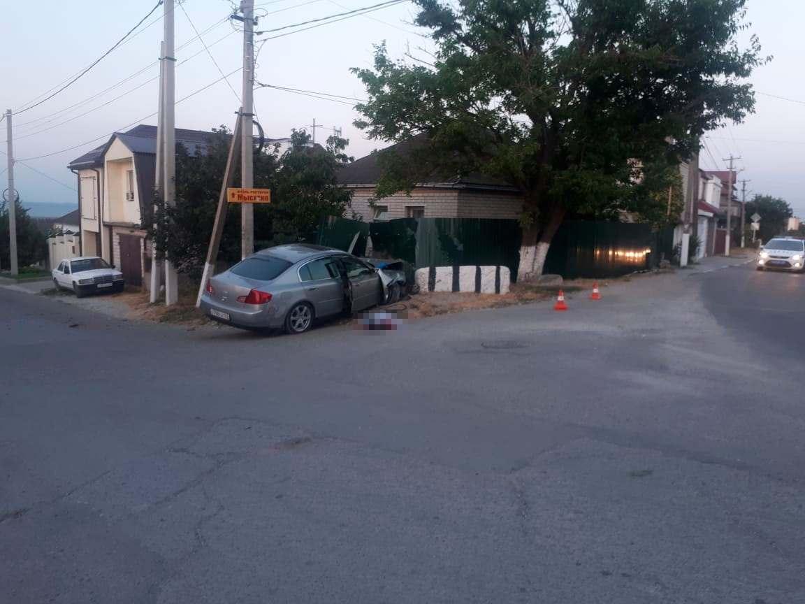 В Мысхако рано утром произошло смертельное ДТП