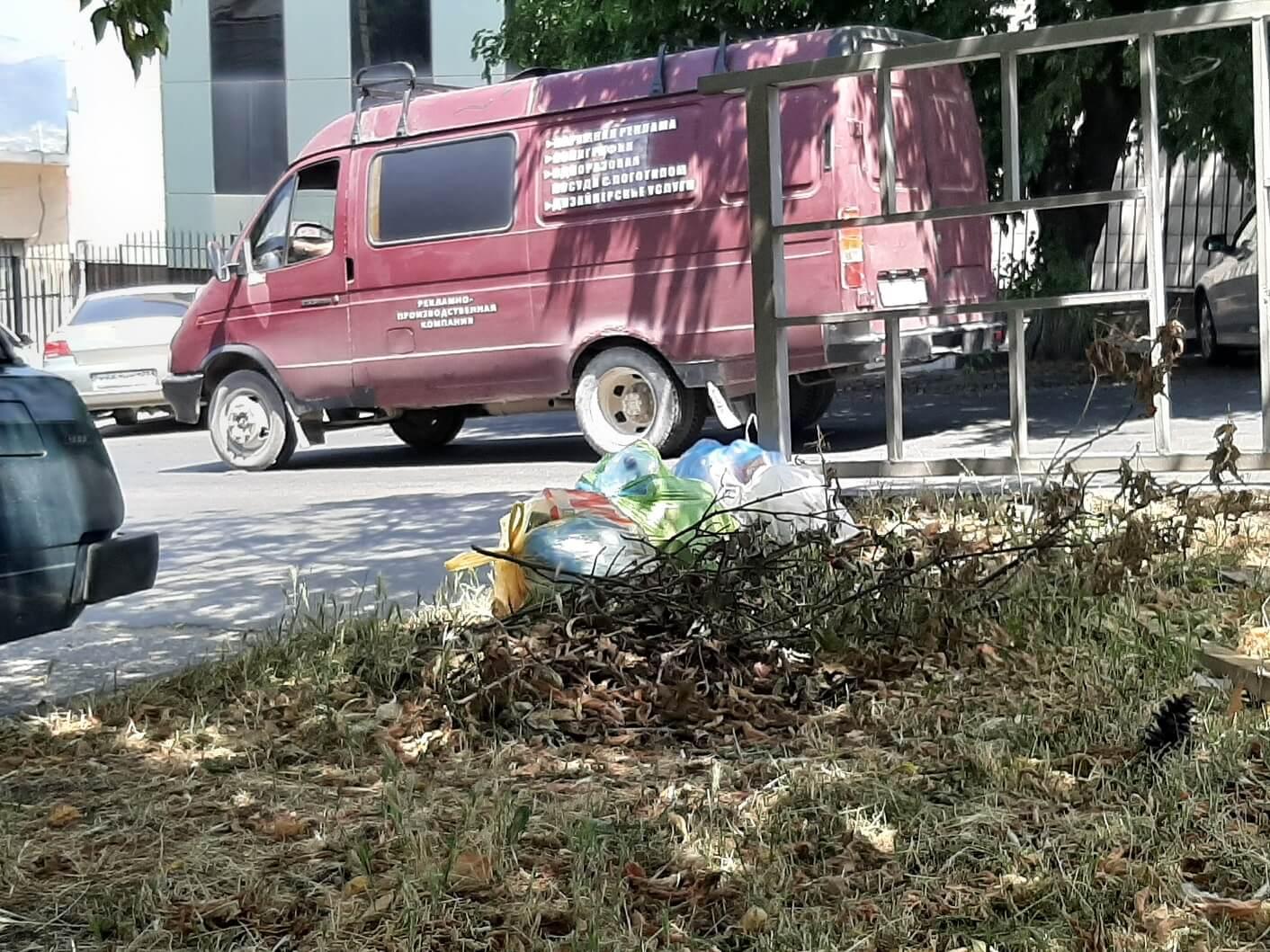ВНовороссийске ккаждому кусту надо поставить уборщика?
