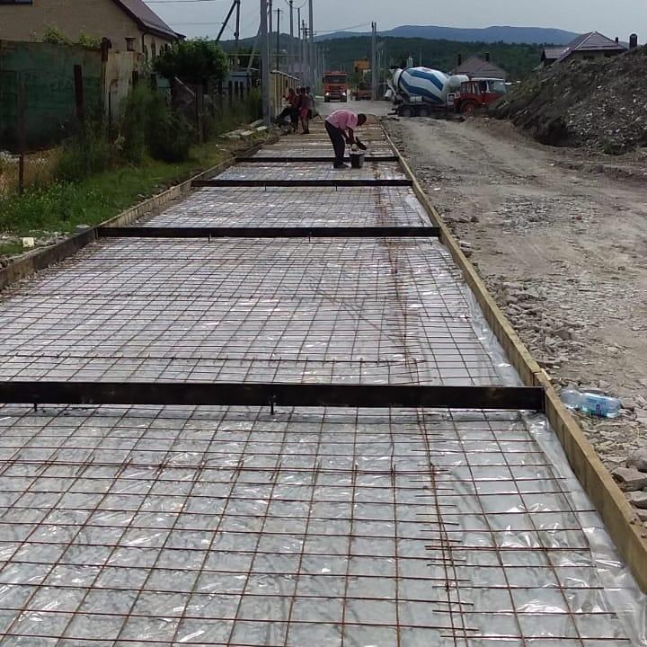 В Натухаевской прокладывают новую дорогу