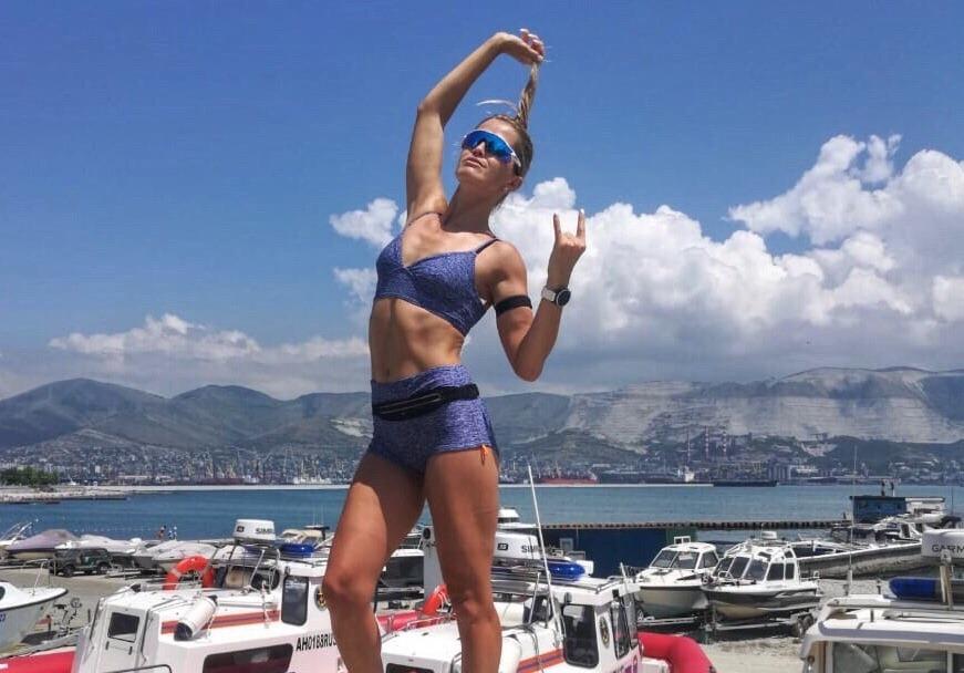 Новороссийская спортсменка победила в забеге по виноградникам