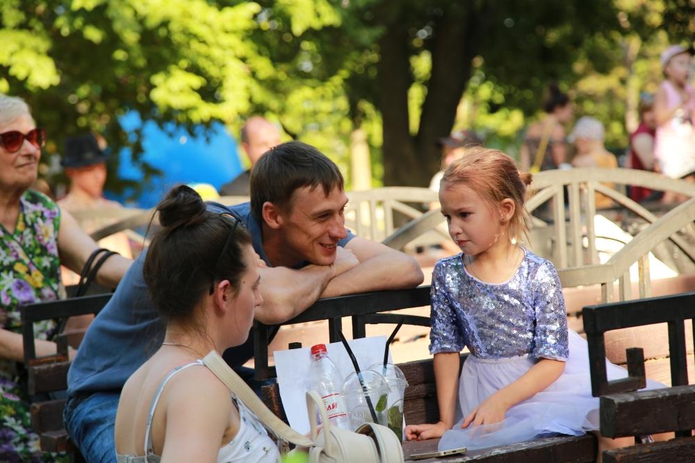 В Новороссийске отпраздновали День отца.