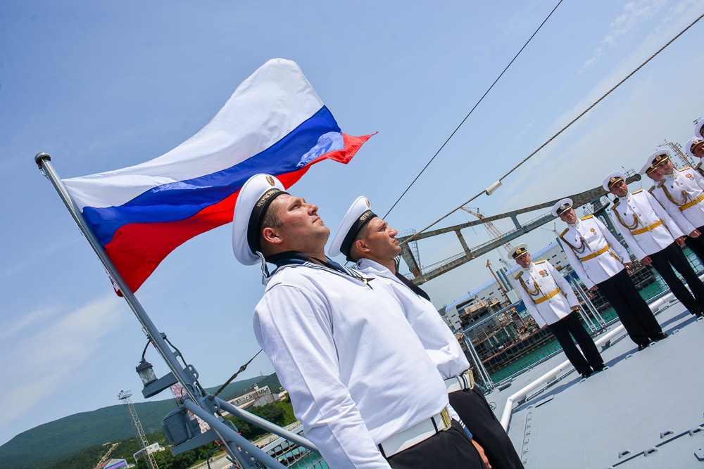 ВНовороссийске всостав ВМФ приняли патрульный корабль «Дмитрий Рогачев»