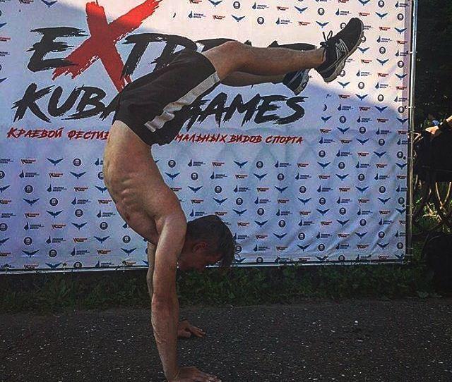 Новороссийский паркурщик и скалолаз победил на Кубанском фестивале экстрима
