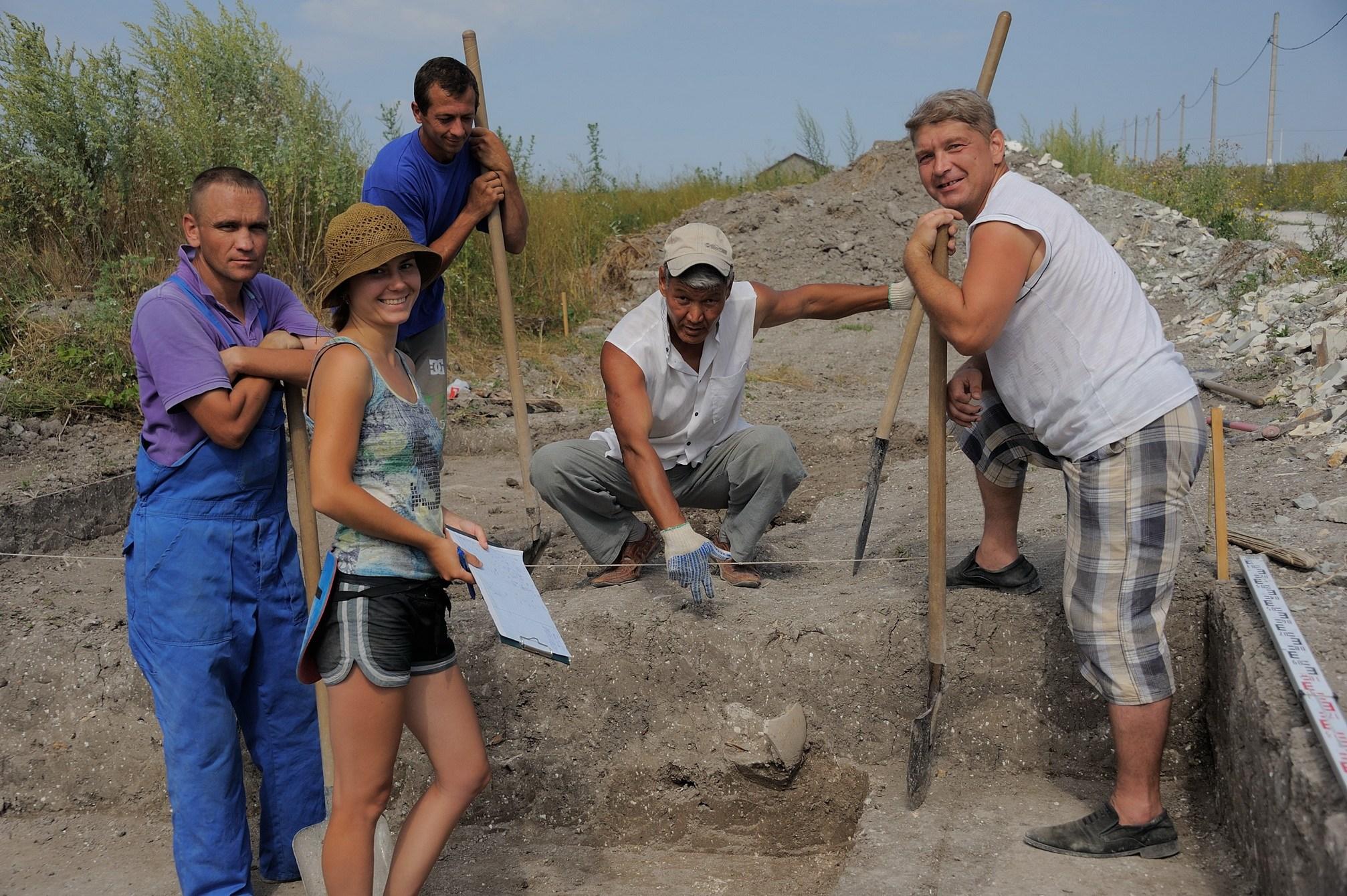 Археологи зовут новороссийцев искать мамонтов