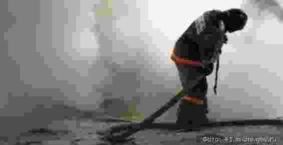 Во время пожара в Новороссийске погиб человек
