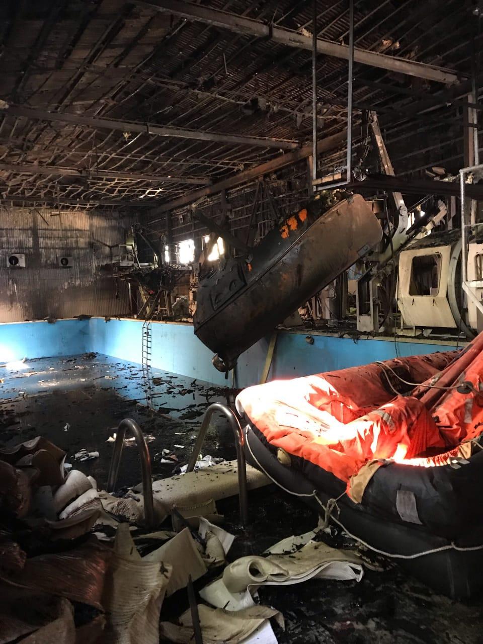 Потушить пожар вНовороссийске было непросто, носним справились