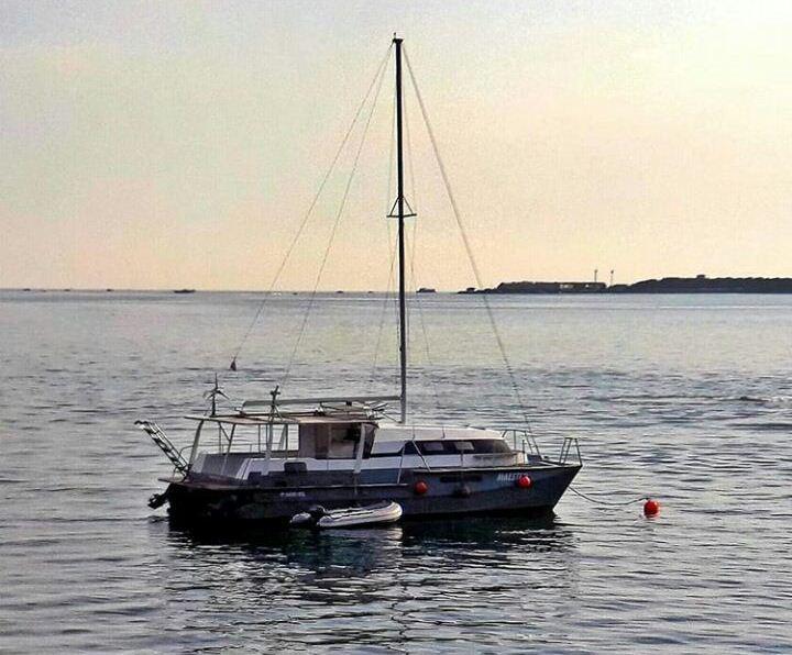 Новороссиец создает яхты своими руками и мечтает о кругосветке