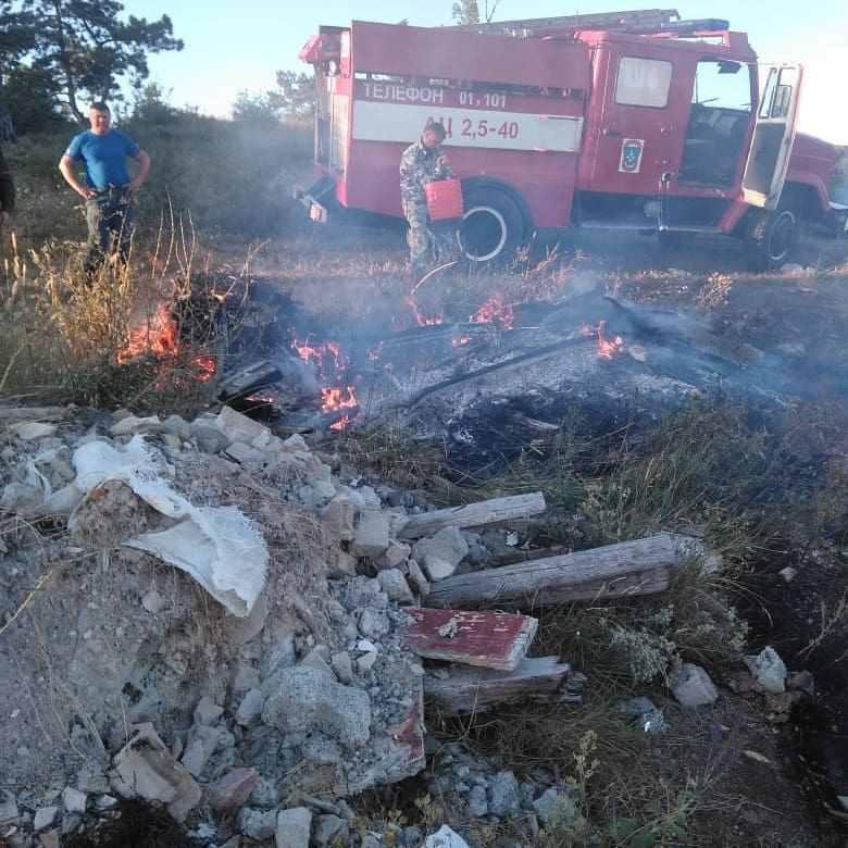 В Новороссийске в день по три пожара