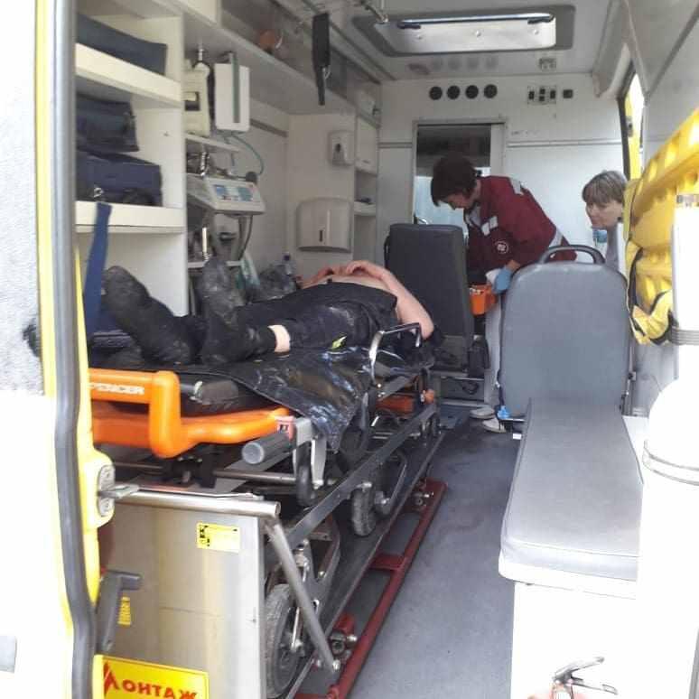 Спасатели Новороссийска достали пенсионера изоврага