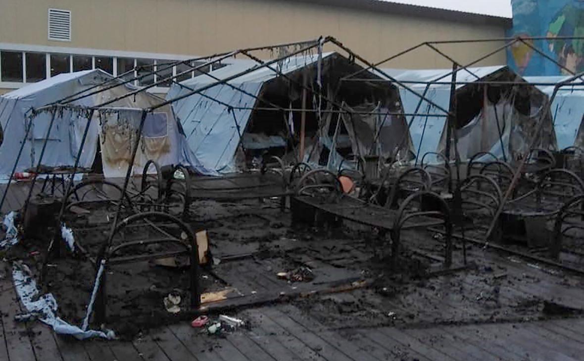 ВХабаровском крае сгорел детский палаточный лагерь. Кубань экстренно проверит свои