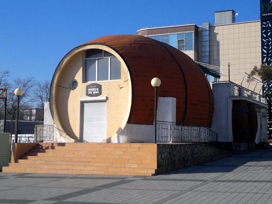 Новороссийская «Бочка» 50-летней выдержки