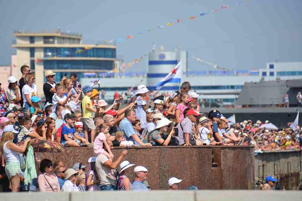 Новороссийск с размахом отметил День ВМФ