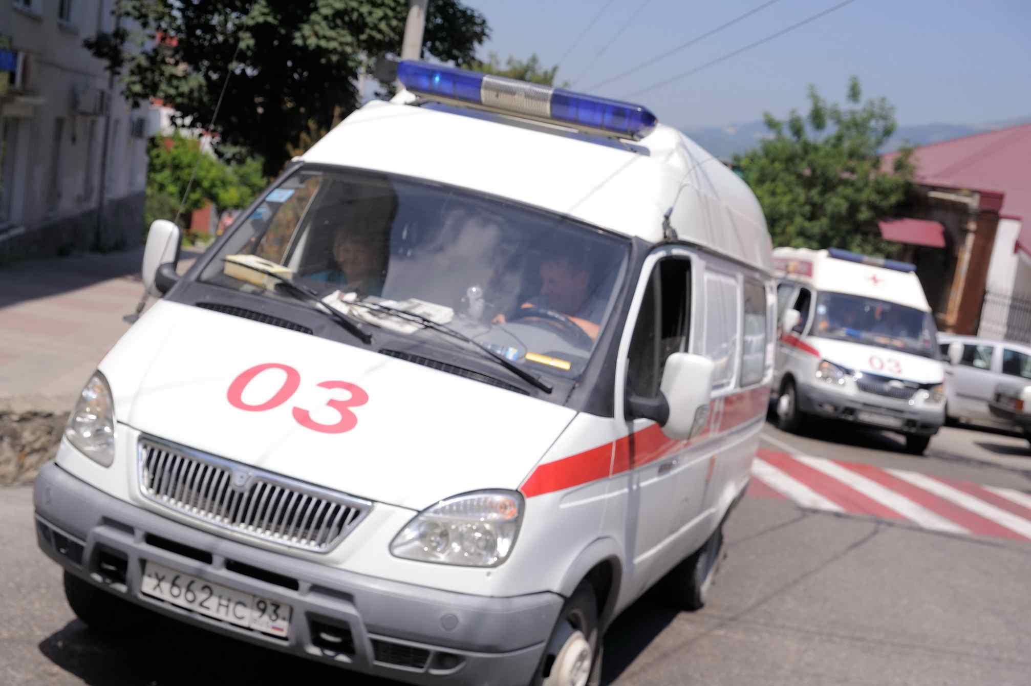 ВНовороссийске после ДТП ребенок втяжелом состоянии попал вреанимацию