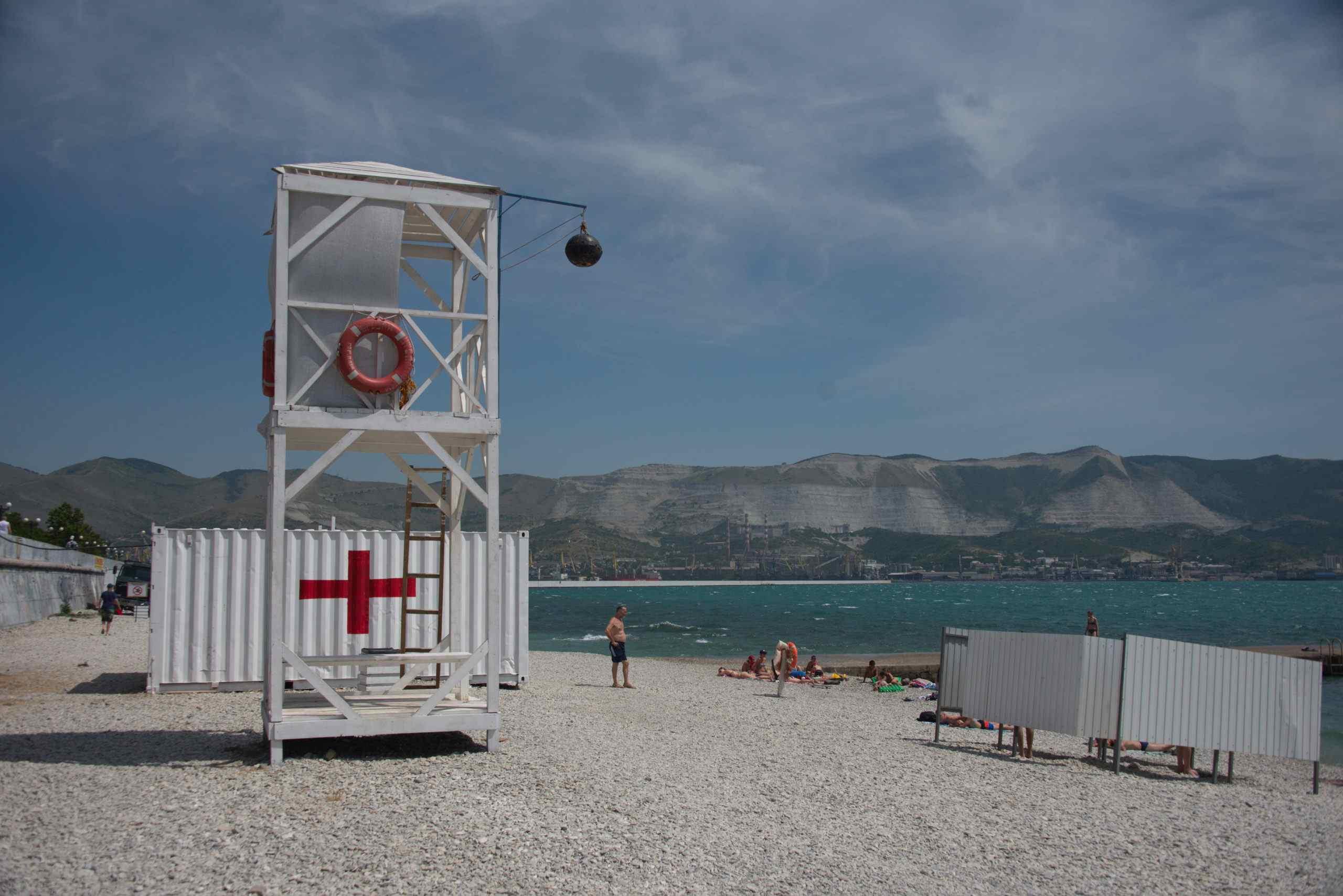 Пляжи вНовороссийске вызывают опасения