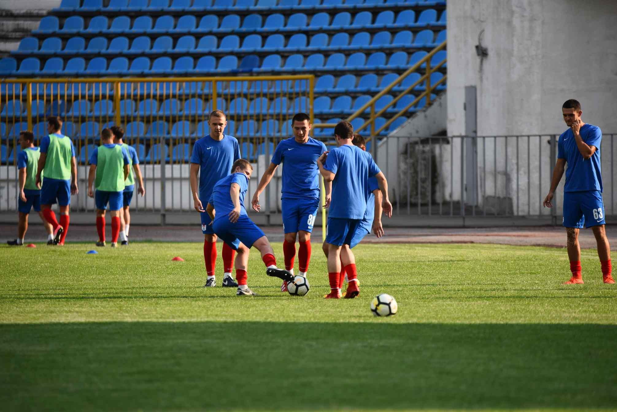 Кубковый матч новороссийские футболисты проведут вМайкопе