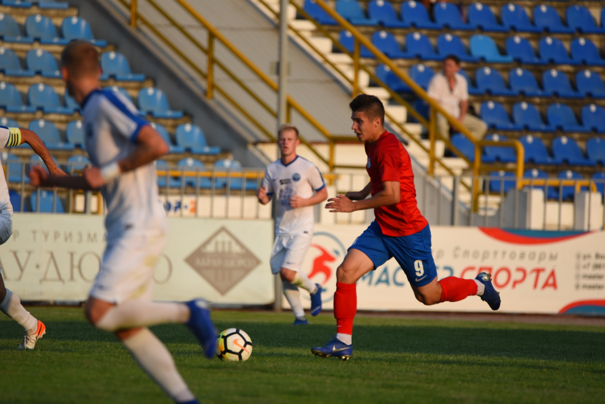 Новороссийский «Черноморец» одержал кубковую победу вМайкопе