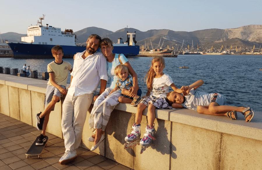 Многодетный отец из Новороссийска: о счастье и успехе
