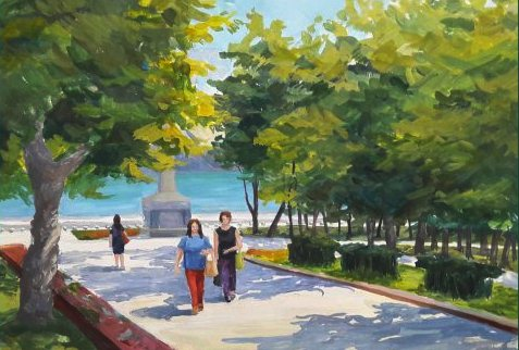 Художественная школа Новороссийска приглашает на выставку