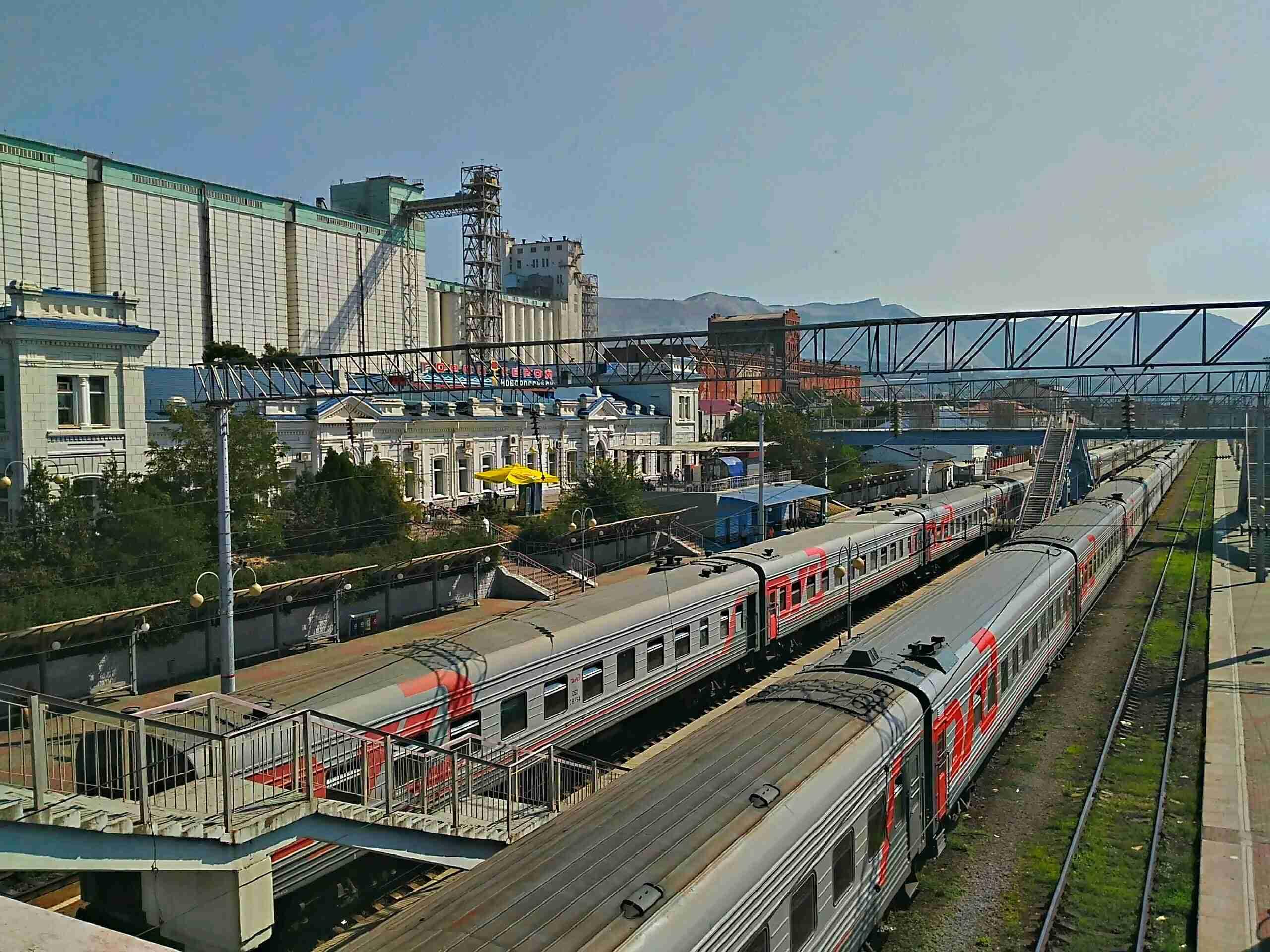 Отменены несколько сентябрьских поездов из Новороссийска