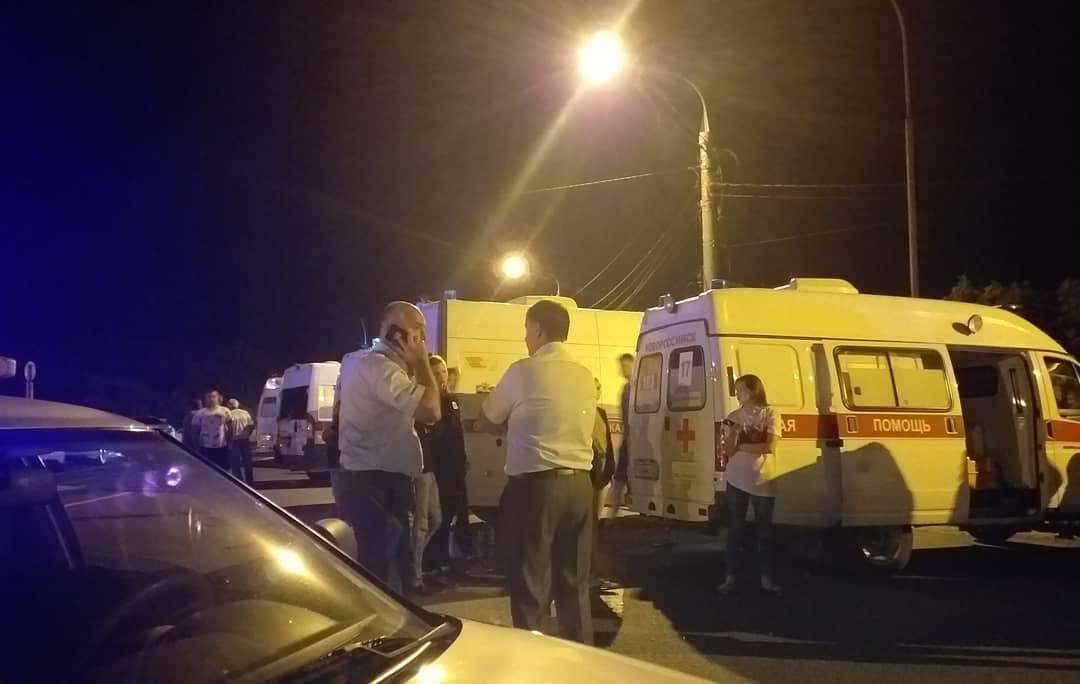 Новороссийск стал главной площадкой спасения пострадавших вжутком ДТП