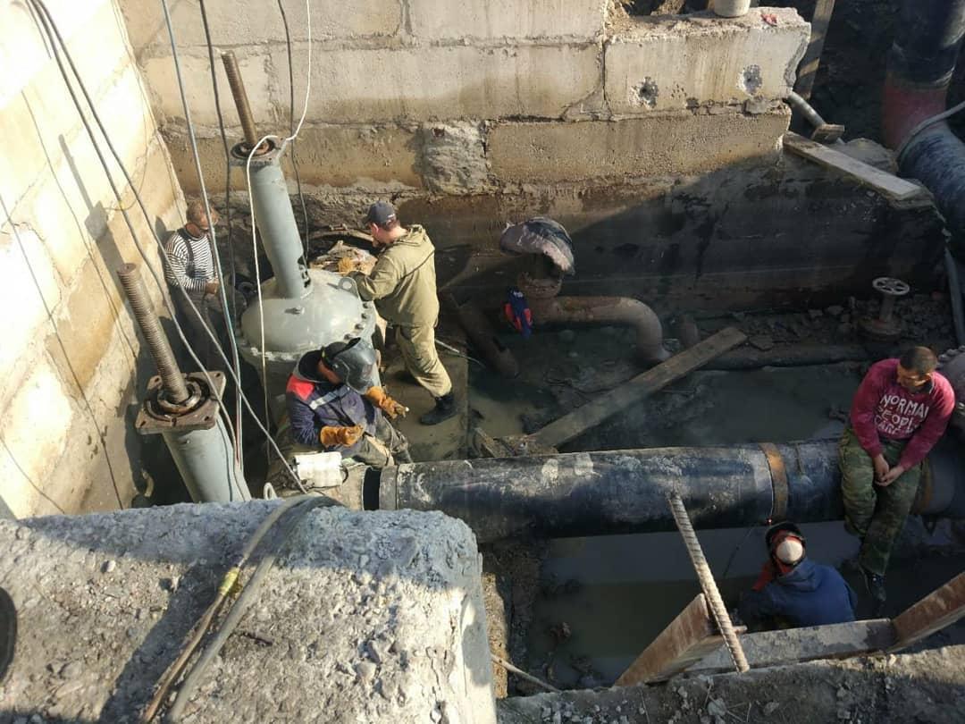Аварийные работы на Троицком групповом водопроводе