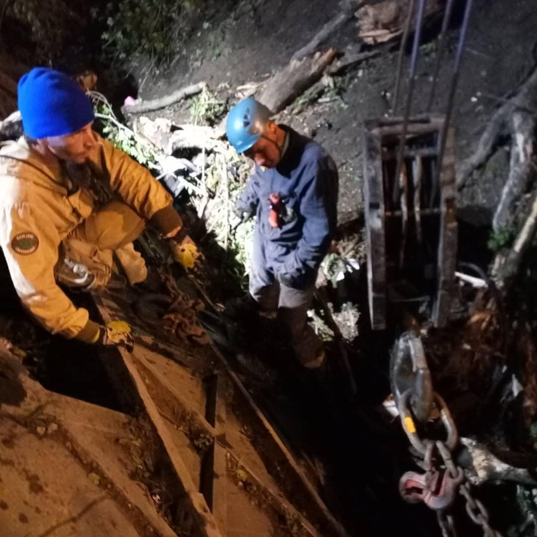 Эту ночь новороссийские спасатели запомнят надолго