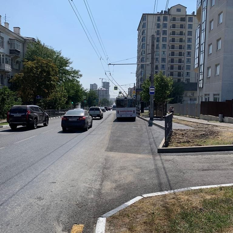 НаЛейтенанта Шмидта вНовороссийске перенесли остановку