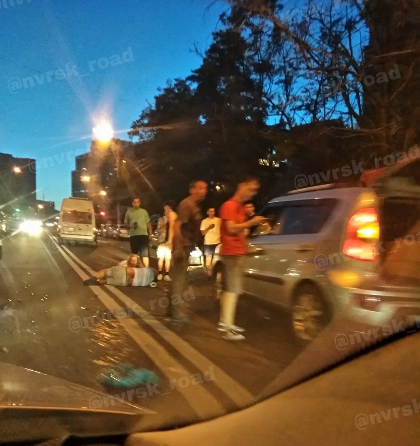 В Новороссийске снова страдают пешеходы