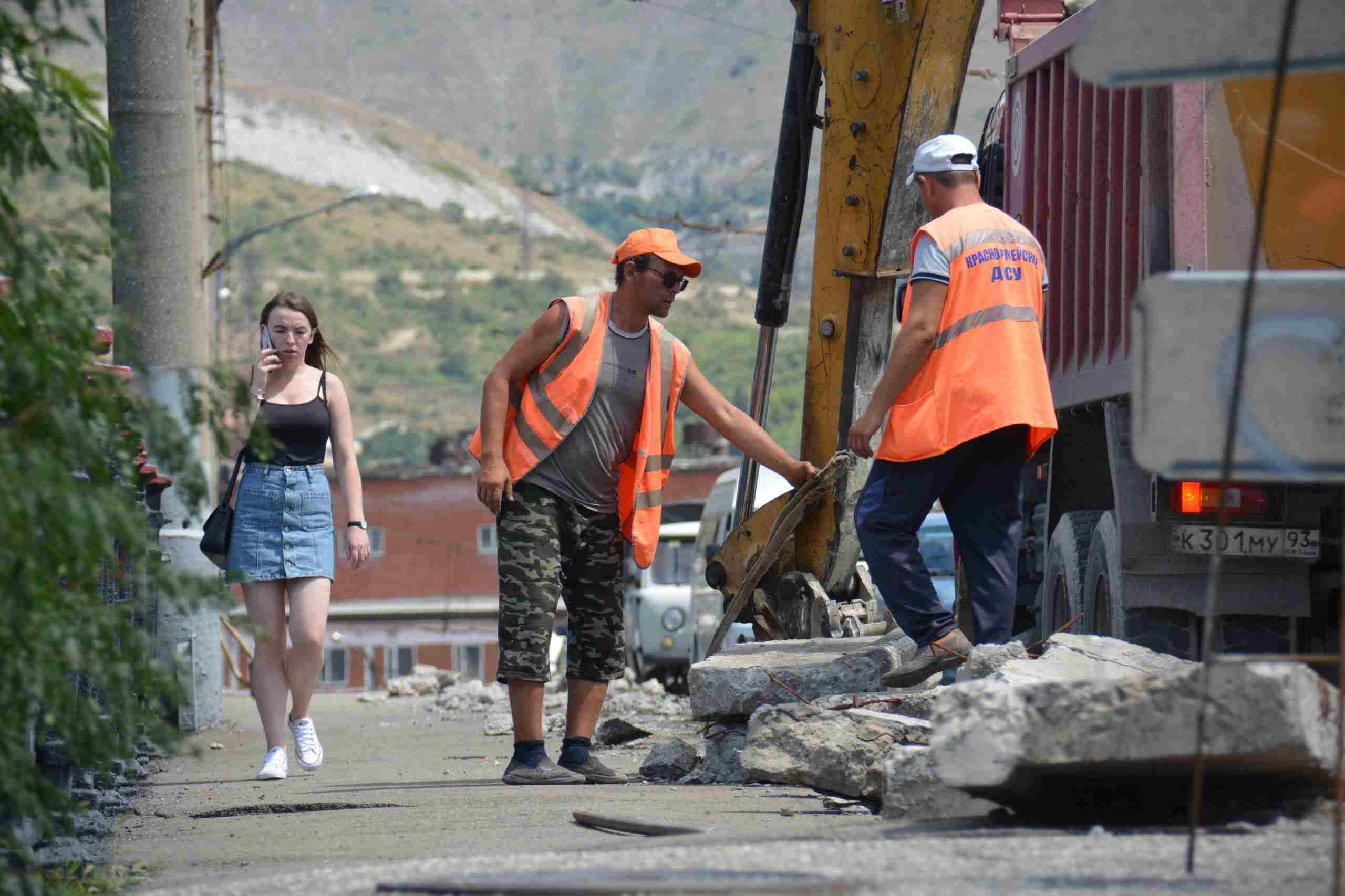 В Новороссийске надеются сохранить новые дороги