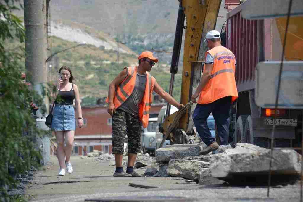 В Новороссийске хотят сохранить новые дороги