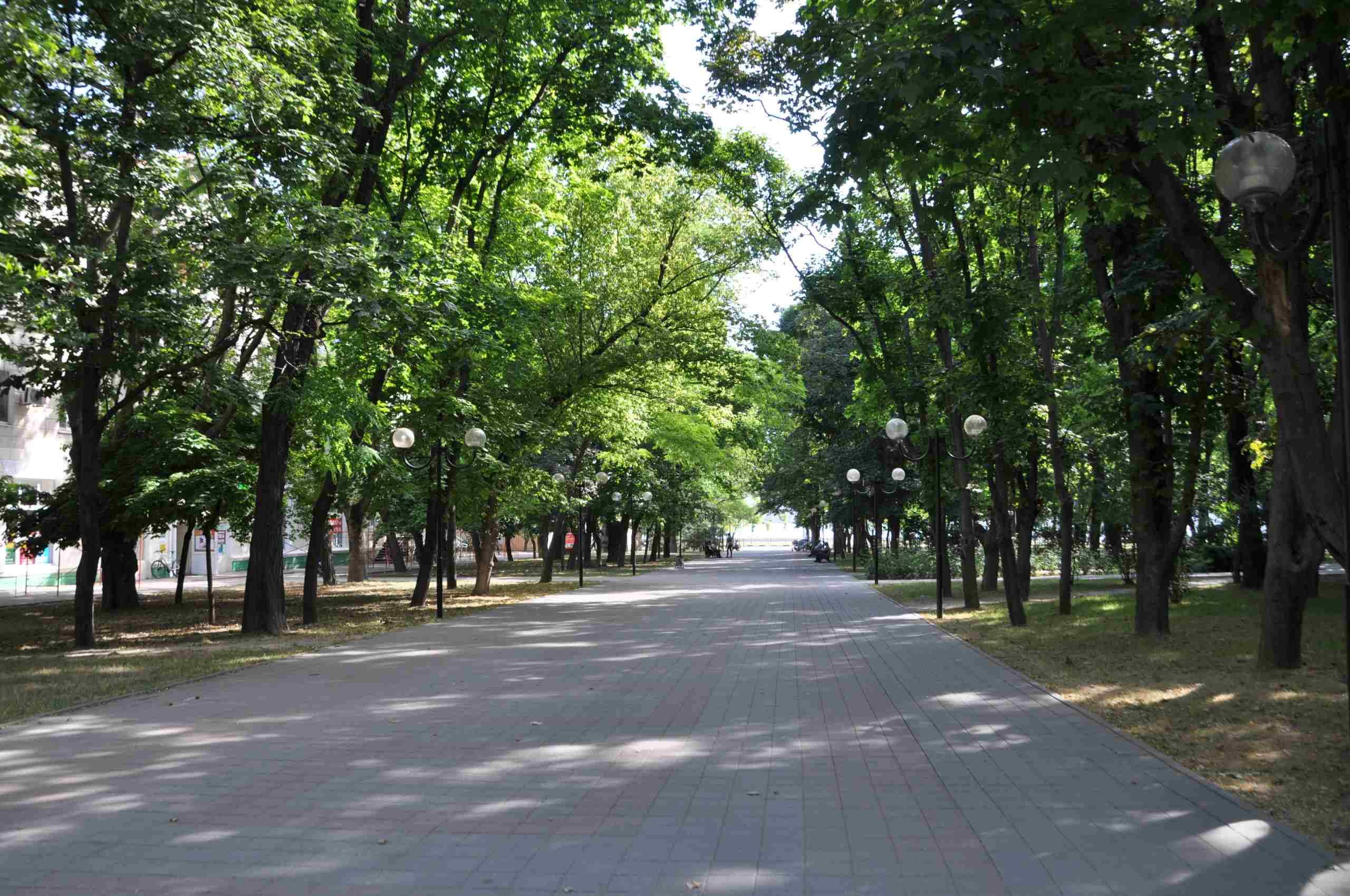 скверы в Новороссийске
