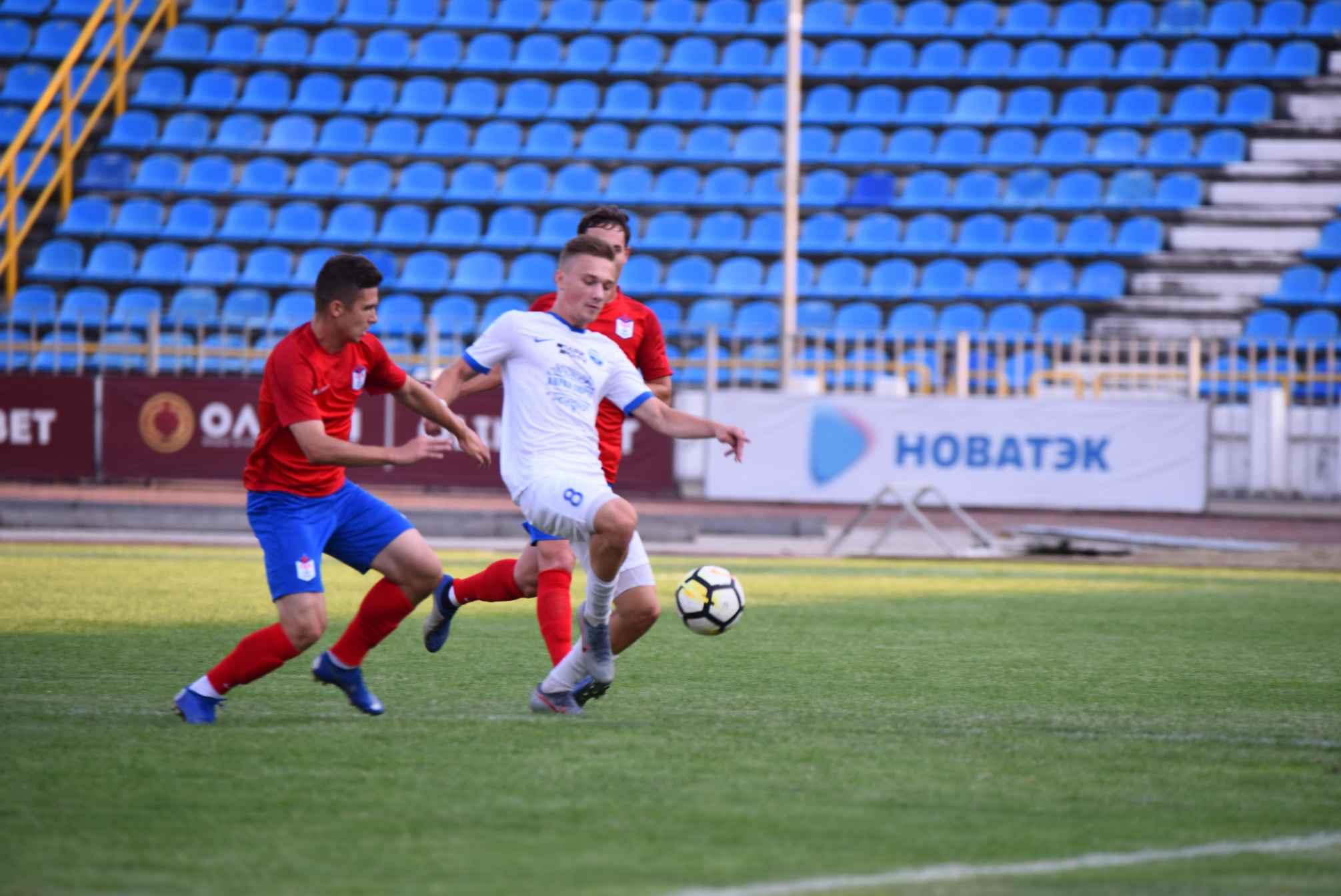 Новороссийский «Черноморец» одержал победу над «Аланией»