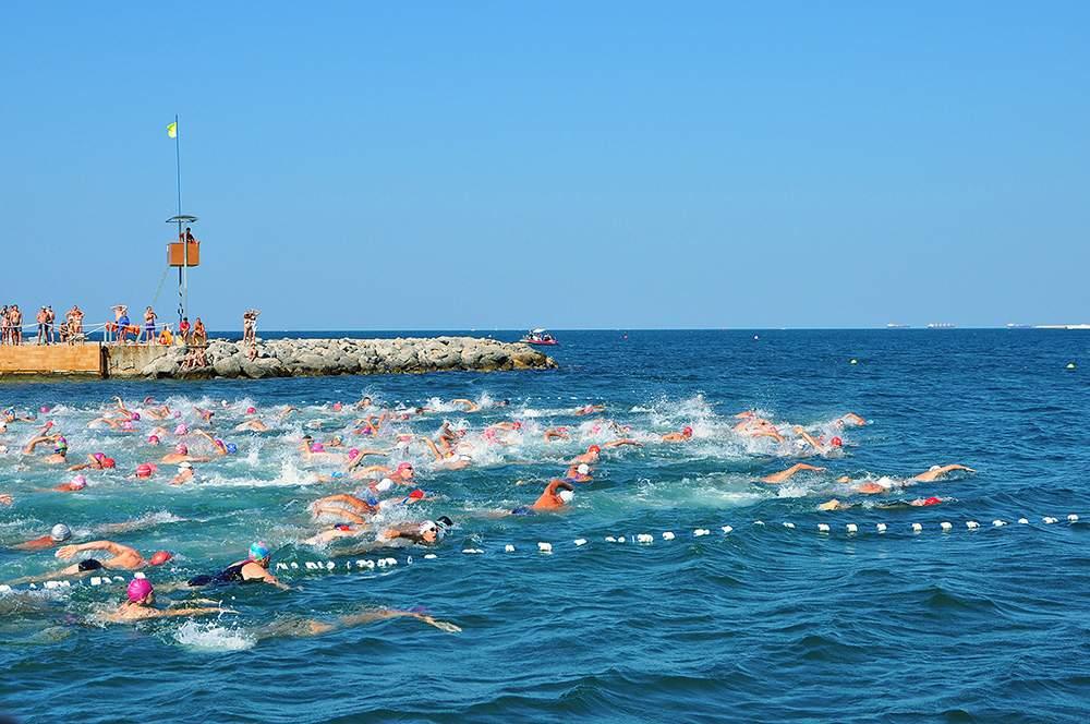 Новороссийские пловцы отличились на «Морской миле»