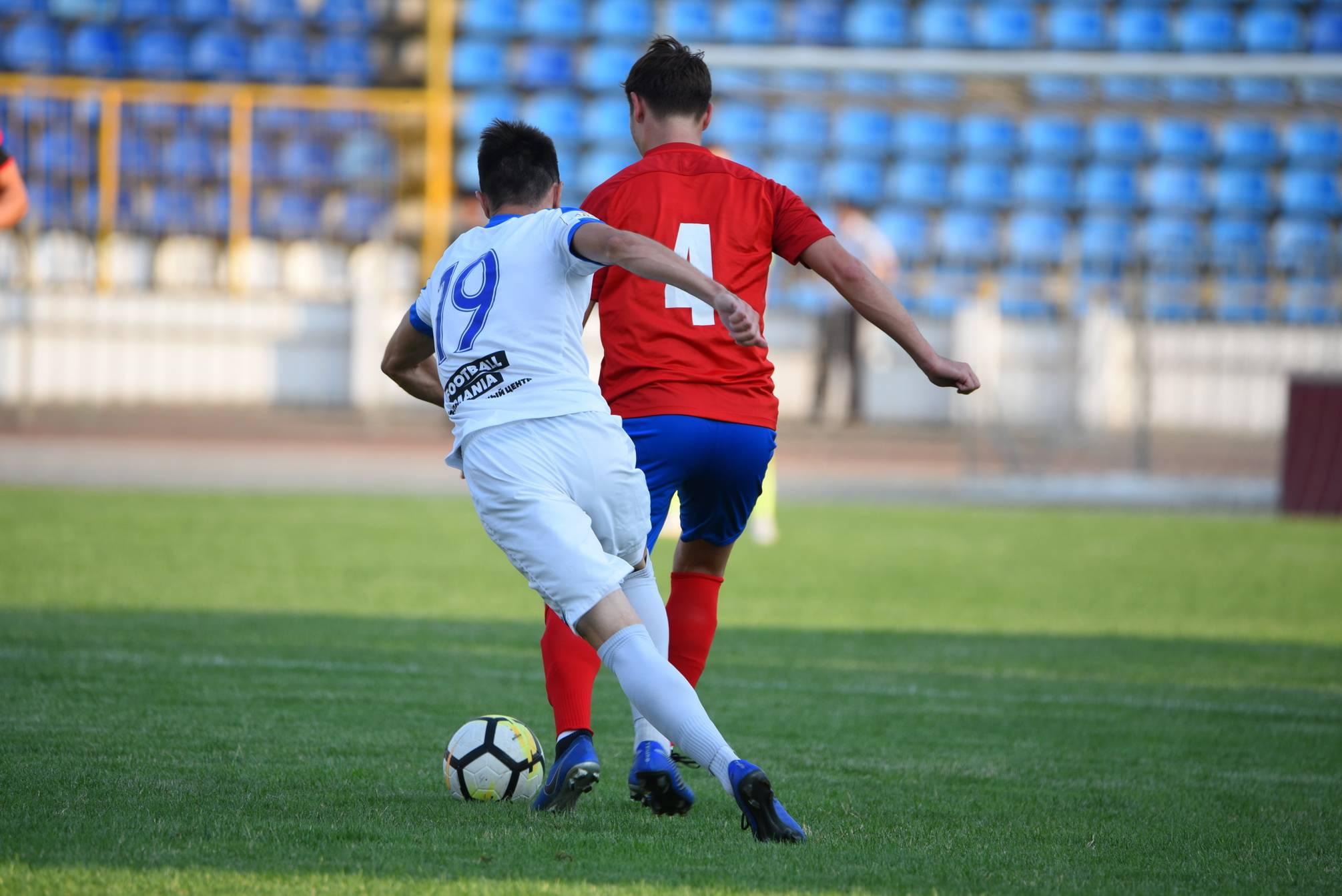 Победить помог хет-трик новороссийского футболиста