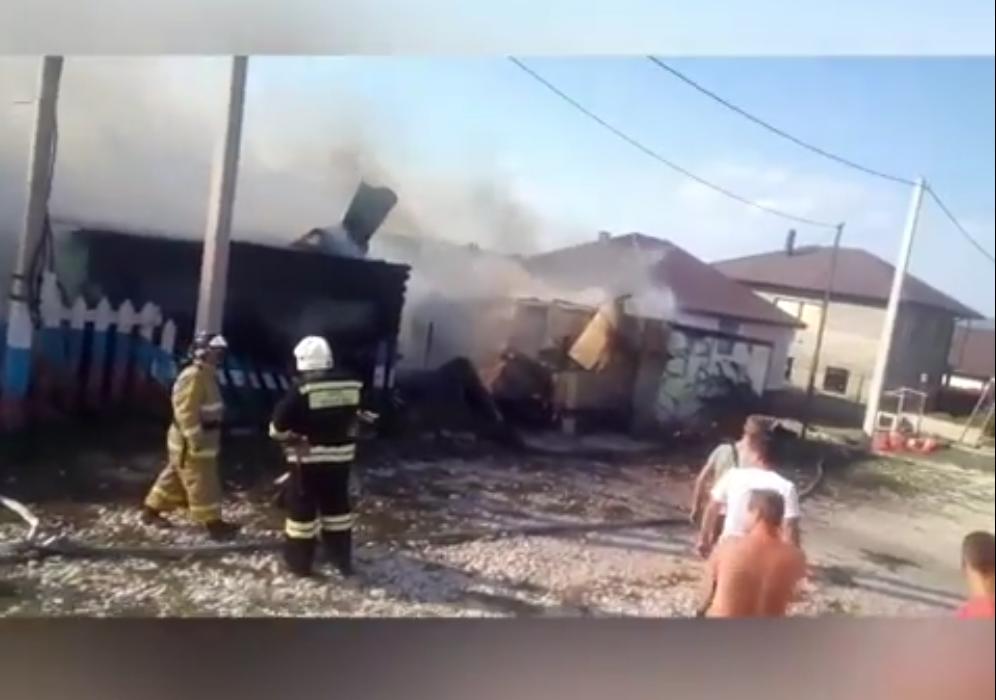 ВНовороссийске взорвался газовый баллон вчастном доме