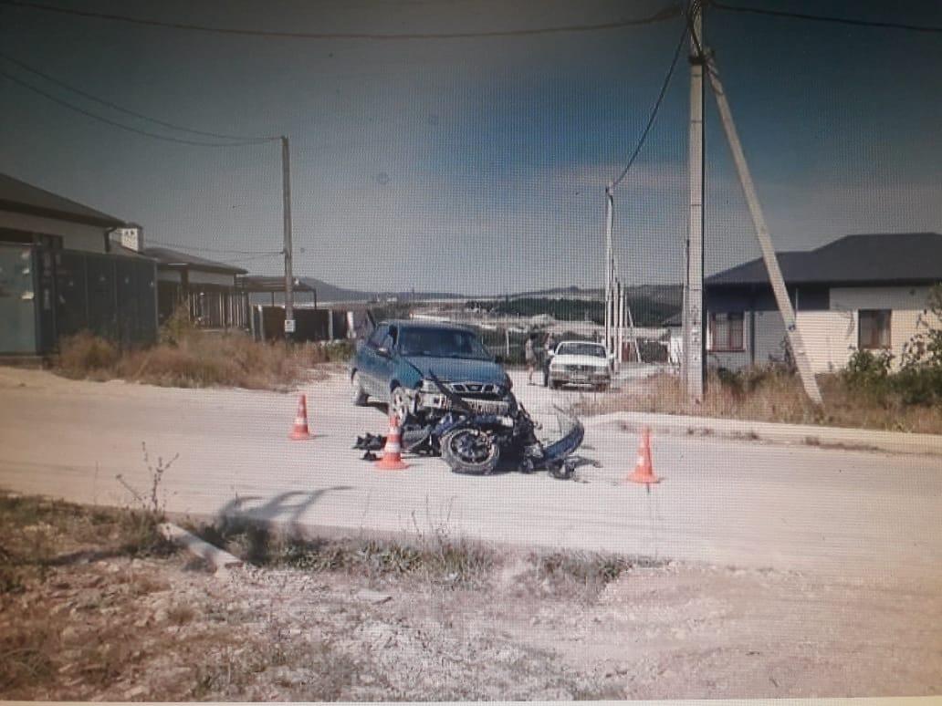 В Новороссийске мотоциклист после аварии умер в больнице